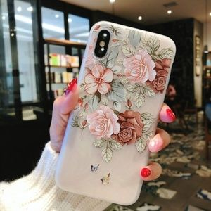 Accessories - NEW iPhone Max/XR/X/XS/7/8/Plus Floral case